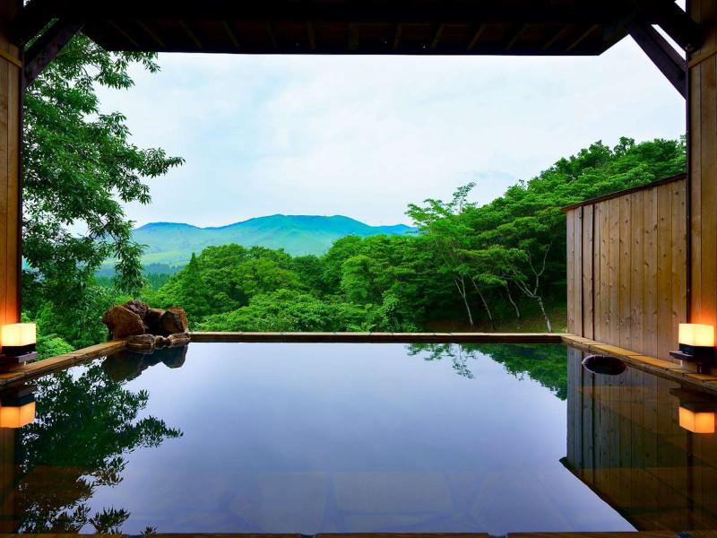 天空の湯 天河山荘
